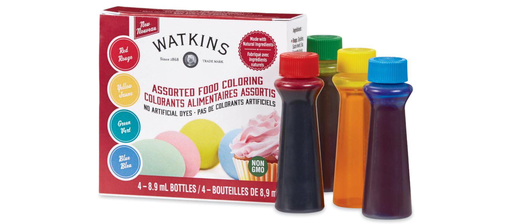 watkins natural baking decorations