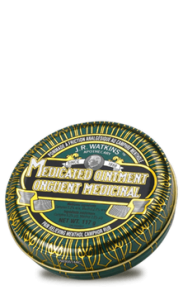 jr watkins medicated green tin ointment