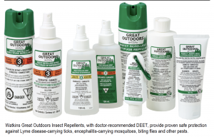 watkins deet and icaridin bug spray