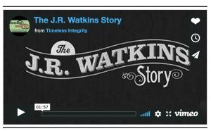watkins history 2 min video