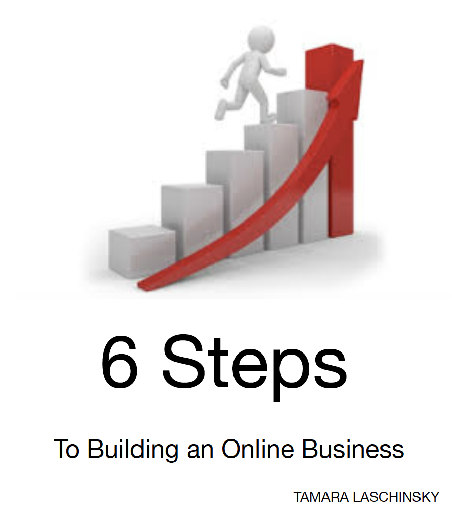 6 steps to successful online business building