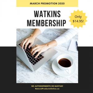 watkins march 2020 promotion