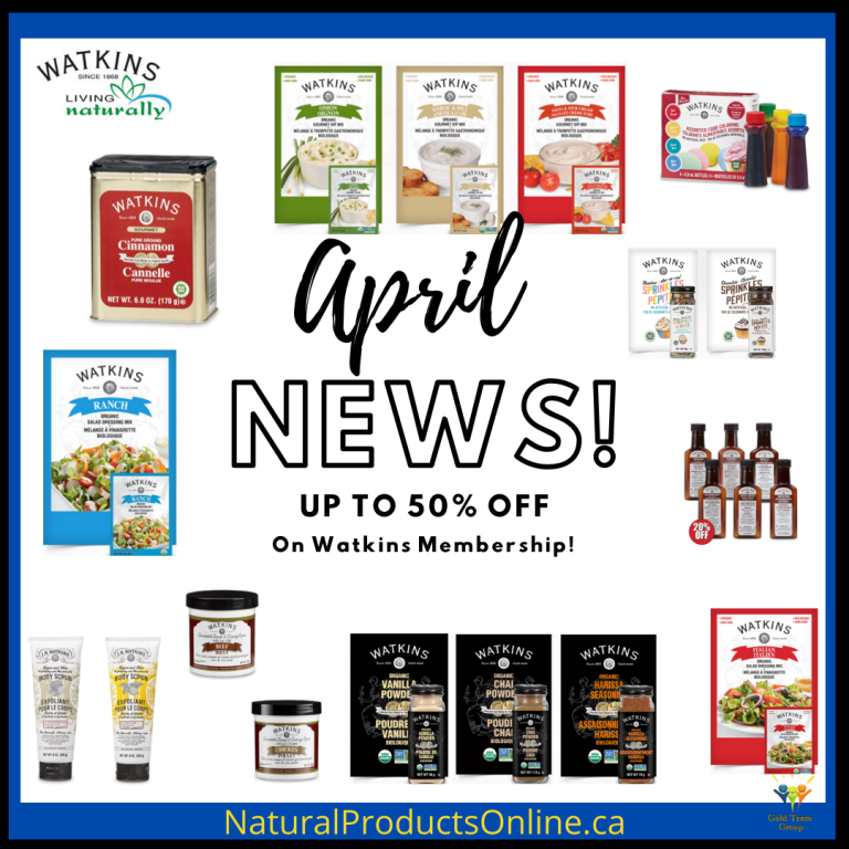 watkins business and products on sale april 2020