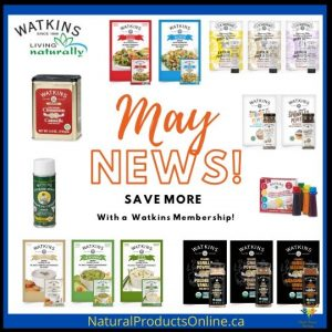Watkins May Specials