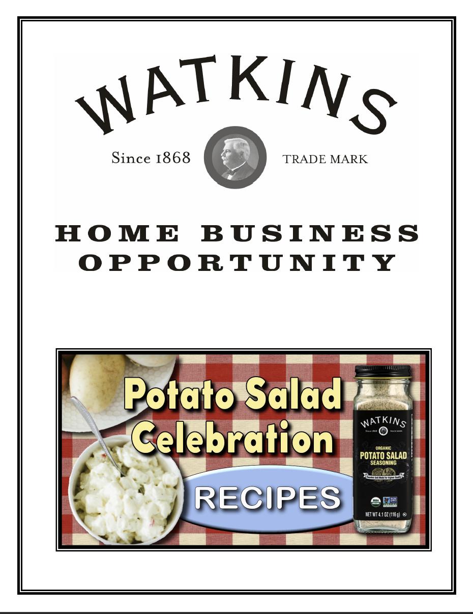 Watkins potato salad cookbook