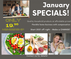 Watkins January Sales