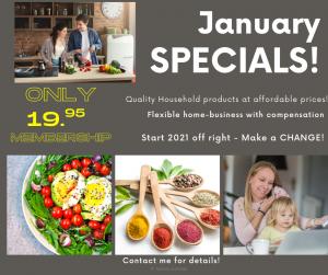 Watkins January Sales