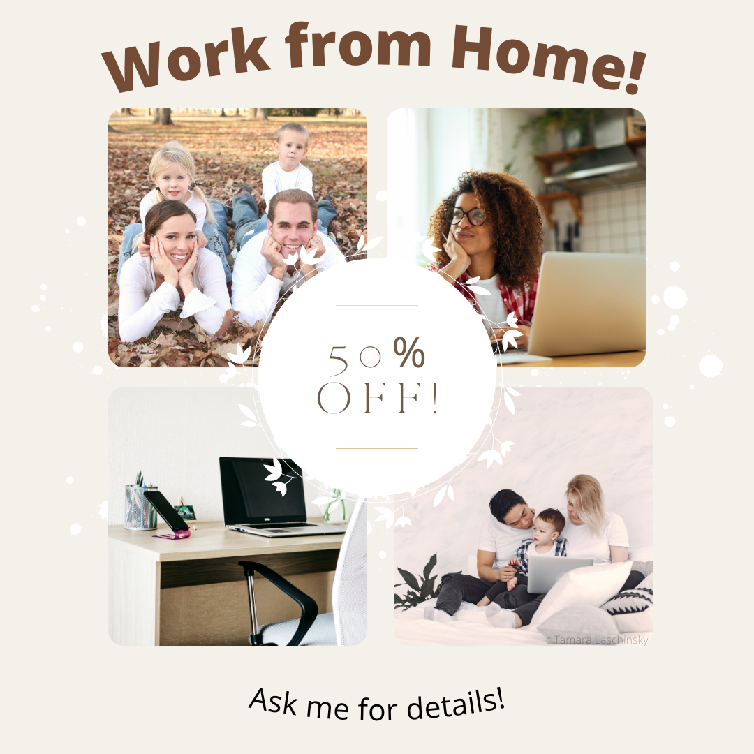 50% Work from Home